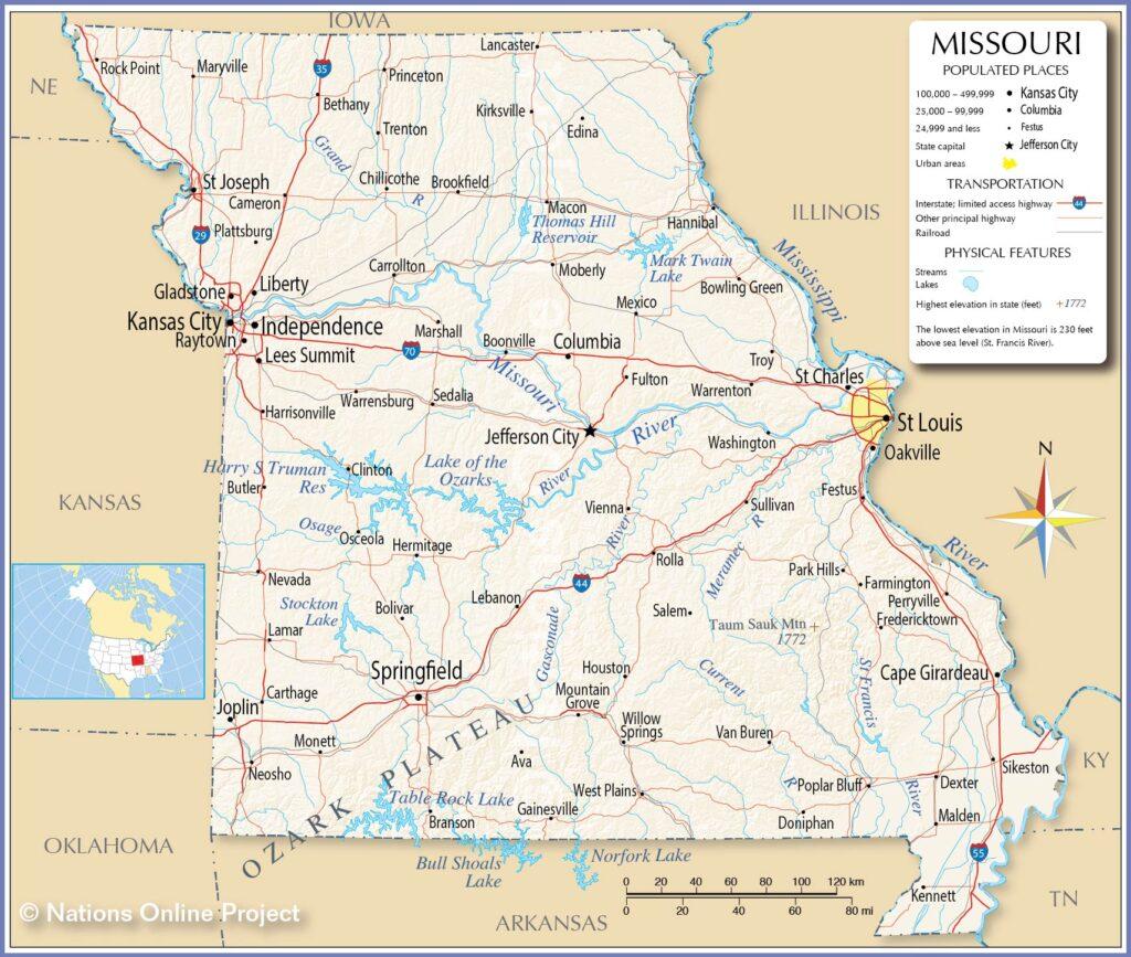 Universities in Missouri