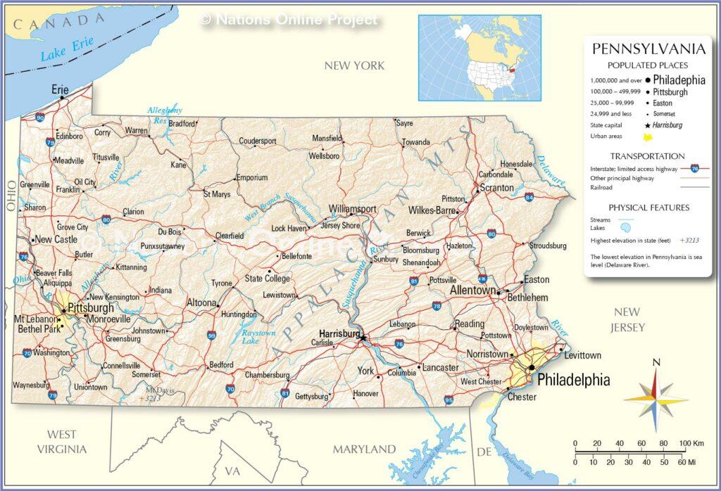 Universities in Pennsylvania