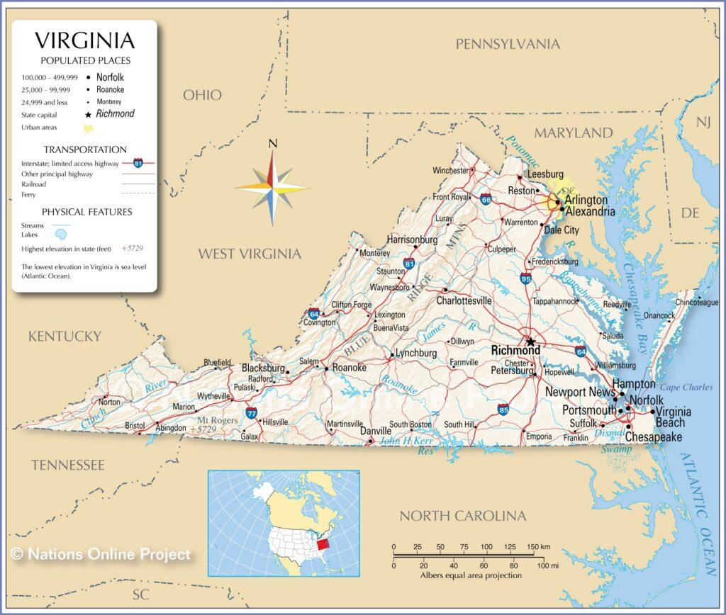 Universities in Virginia