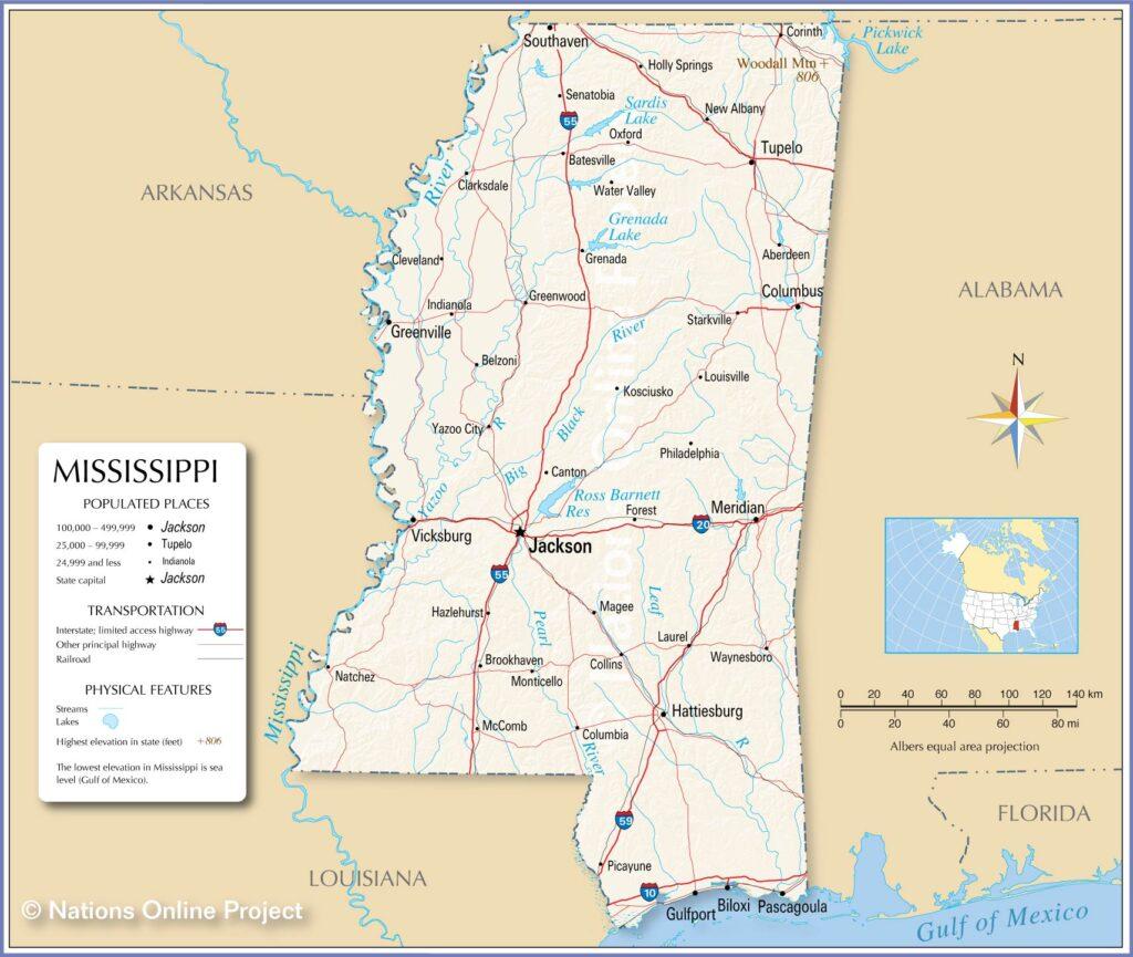 Universities in Mississippi